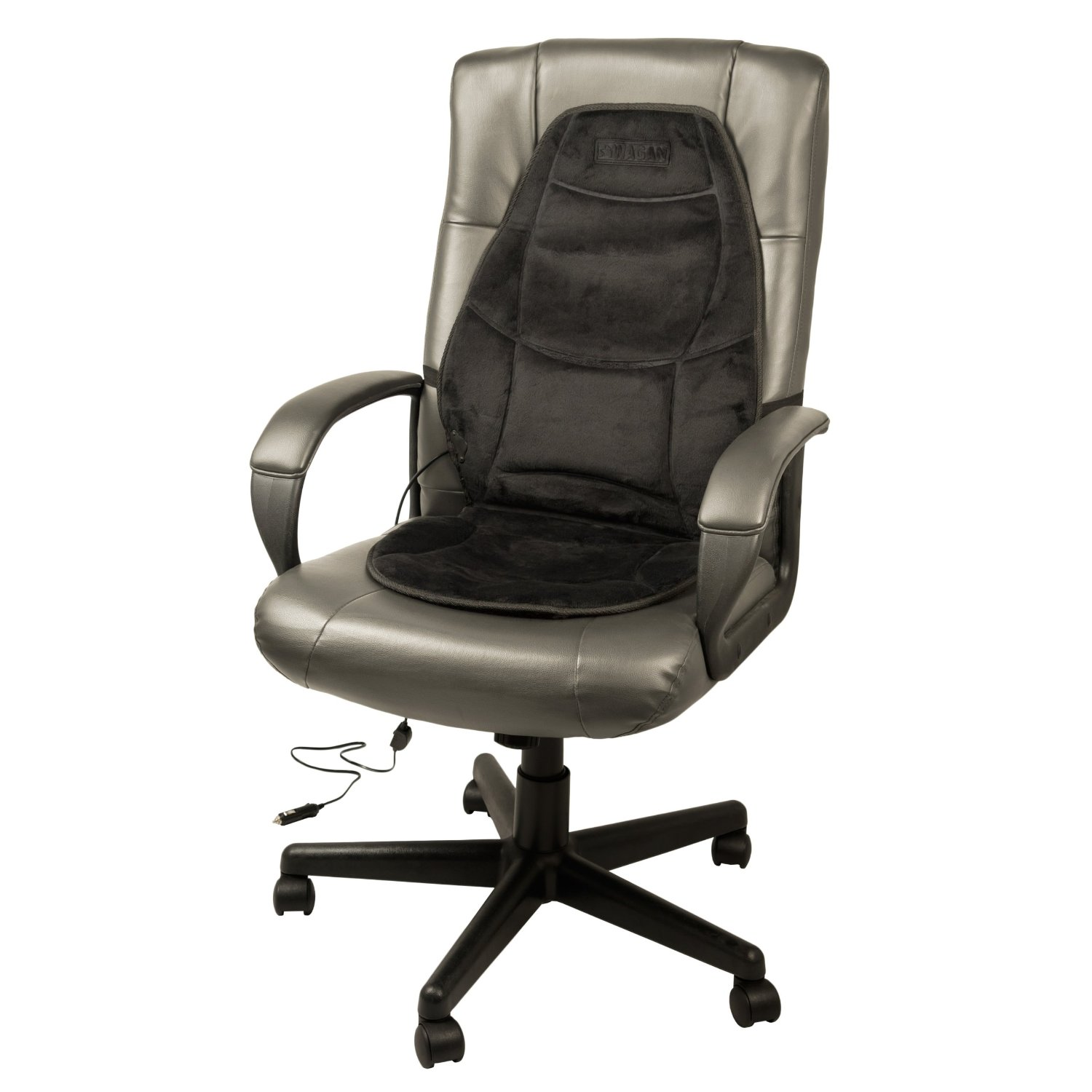 back support cushion heated lumbar support office chair